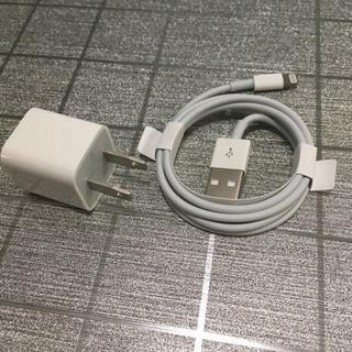 iPhone充電器セット(Apple純正 ライトニングケーブル(...