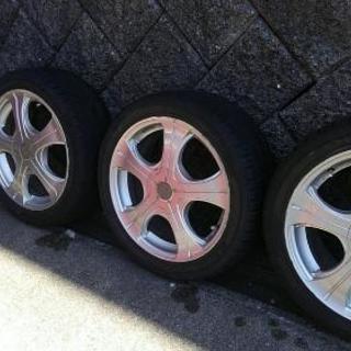 タイヤ&ホイールセット 215/45ZR17
