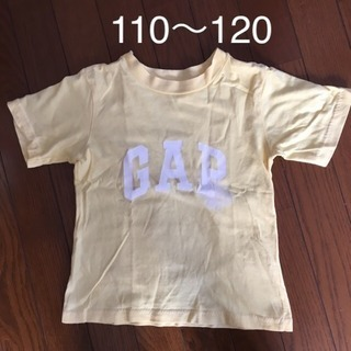 110〜120 GAP ロゴTシャツ