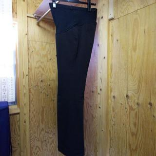スーツ7号パンツ。別注マタニティ仕様。