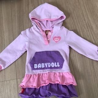 BABY DOLL美品 90サイズ ワンピース