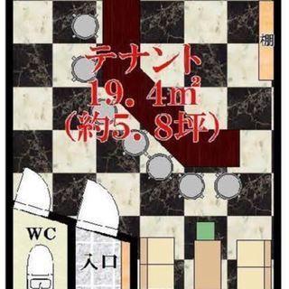 ★スナック・バー居抜★ 貸店舗・事務所  高見の里駅2分 2階部分...