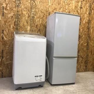 @19引取 シャープ 10年セット 冷蔵庫 洗濯機 家電セット