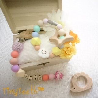 【大船】赤ちゃんへの手作りプレゼント♪TinyTeeth™…