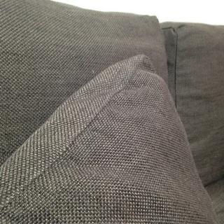 simple style ソファーとオットマン