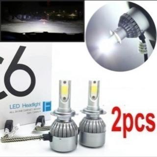 大人気 LED ヘッドライト 16000ルーメン 爆光 H4