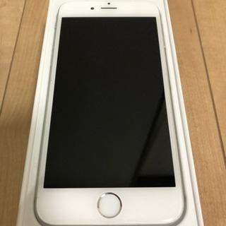 iPhone 6 Silver 64 GB Softbank 初...