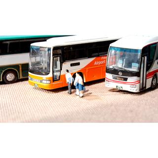 バスコレ 1/150 Nゲージ 観光バス 8台 ジオコレ 鉄道模型