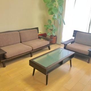 ダイニングソファーテーブル