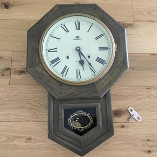 ジャンク品 振り子時計