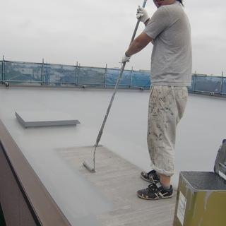 ペンキ屋さんのお仕事!建築塗装の仕事です!