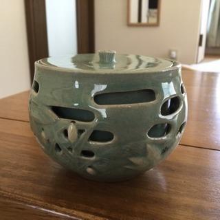 韓国 青磁  湯のみ茶碗