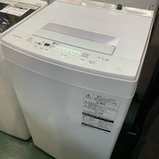 TOSHIBA 洗濯機 2018年 4.5kg AW-45M5 中古の画像