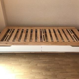 【急募〜4/19】IKEAシングルベッド