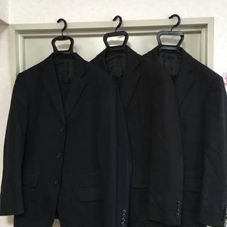 Aokiの2パンツスーツ  3着纏めて A5サイズ  濃紺、濃紺...