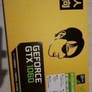玄人志向 GEFORCE-GTX1060-6GB/OC/DF(中古)