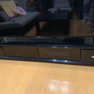 65インチ対応 TVボード 黒