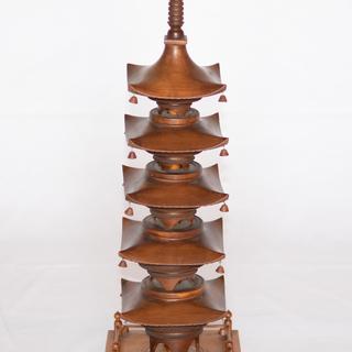 【コレクション】木製の五重の塔