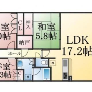 めったに出ない分譲3LDK専用庭付きマンション♫設備も立地もよし...