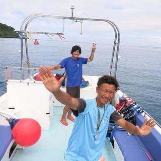 船長(ダイビング船、シーウォーク船、パラセール船)、船長候補を募集...