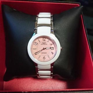 ピンク 腕時計 TECHNOS