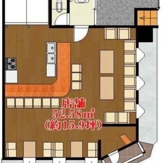 ★飲食店の居抜★ 貸店舗・事務所  北花田駅13分 1階路面店舗5...
