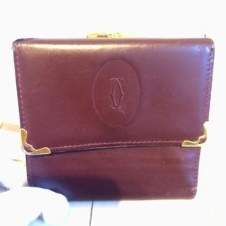 Cartier カルティエ 三つ折り財布 ✩