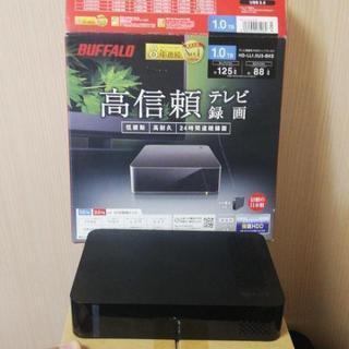 テレビ録画用 外付けハードディスクの画像