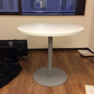 丸テーブル 幅800×奥行800×高さ700