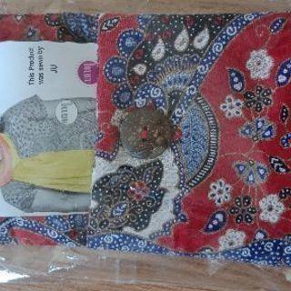 新品インドネシア製斜めかけバッグと財布