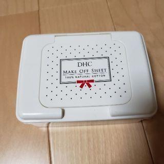 DHC メイクオフシート ケース
