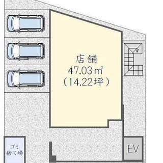 ★堺東駅10分★ 貸店舗・事務所  飲食可 駐車場有 1階路面店4...
