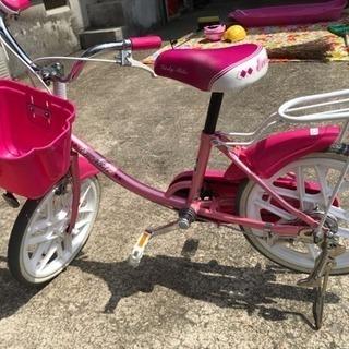 女の子 自転車 7000円。受付終了です。