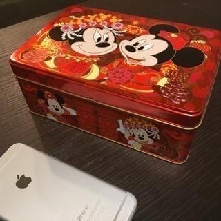 香港ディズニー Hong Kong Disney お菓子の空き缶