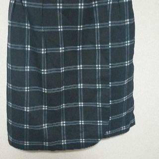 Mサイズ チェックのスカート
