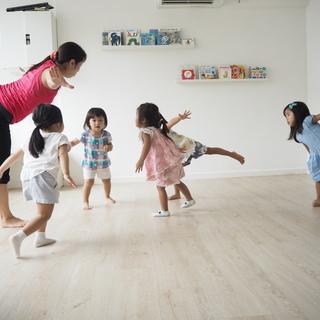 1~6歳の為のリズム体操教室|武蔵小金井南口より徒歩3分|沢山動ける教室! − 東京都