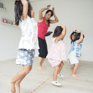 1~6歳の為のリズム体操教室|武蔵小金井南口より徒歩3分|沢山動ける教室! - 教室・スクール