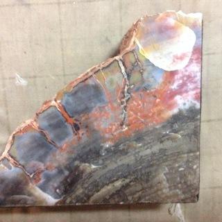 重くて綺麗な岩石(隕石か)
