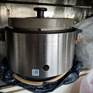 都市ガス炊飯釜、炊飯器