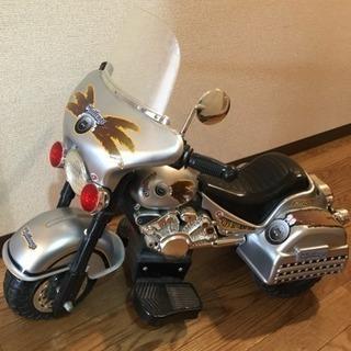 子供用 電動バイク  アメリカンタイプの画像