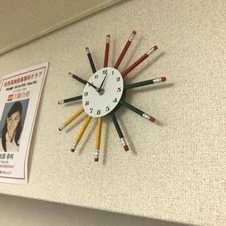 オシャレ時計壁掛け