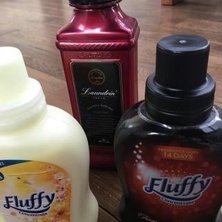 香りのいい柔軟剤3個セット ランドリン フラッフィー