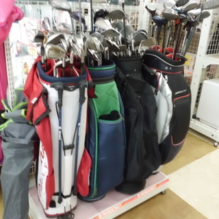 【北九州市】ゴルフクラブが100円から!掘り出し物あるかも…