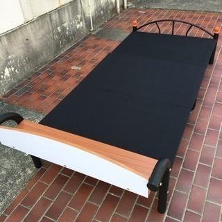 ※終了※▼値下げ▼シングルベッド 分解できます! - 家具