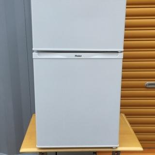 ☆美品☆Haier☆14年製☆2ドア 冷凍 冷蔵庫☆右開き☆高さ...