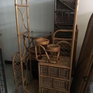 ※一旦終了※籐の家具 籐製品 どれでも 1つ 500円