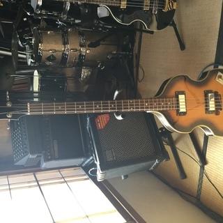 バイオリン型ベースです