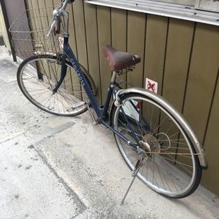 【中古】27インチ自転車差し上げます。