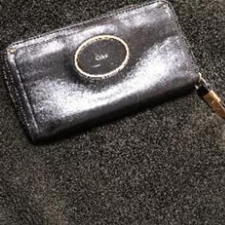 クロエ 長財布 ブラック