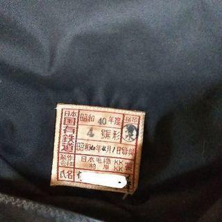 日本国有鉄道 帽子とバッチセット